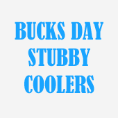 Bucks Stubby Coolers