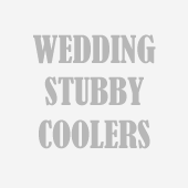 Wedding Stubby Coolers