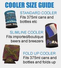 custom stubby cooler size guide